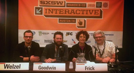 SXSW Panel :: Warhol Goes Social with Christian Welzel, Mitch Goodwin, Laurie Frick and David Jones (March, 2013)