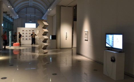 Mineral Machine Music, featured at Prism 16 at the Millennium Gallery in Sheffield, UK (July, 2014).